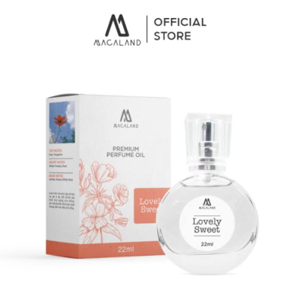 Nước hoa nữ hươg thơm quyến rũ 22ml MACALAND nhập khẩu