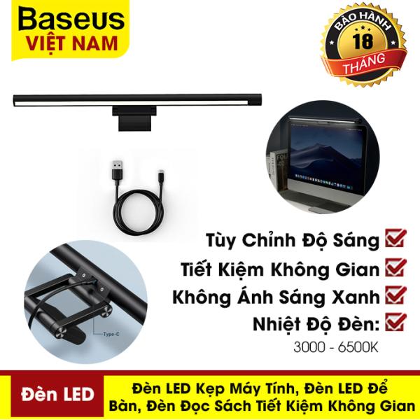 Bảng giá Đèn chiếu sáng Baseus dùng làm đèn kẹp máy tính, đèn LED để bàn, đèn đọc sách - phân phối chính hãng tại Baseus Việt Nam,