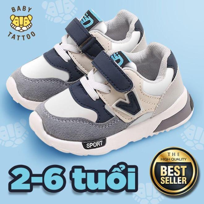 Giày Thể Thao  trẻ em  dành cho  bé trai/bé bái Kiểu Hàn Quốc - thời trang cho các bé 2-3-4-5-6 Tuổi giá rẻ