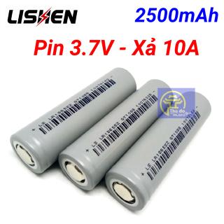 Cell Pin xám Ls Lishen 2500mAh, xả cao 10A, chuyên pin Power Tools (dùng cho Máy khoan, xe đạp điện,máy pos...) thumbnail