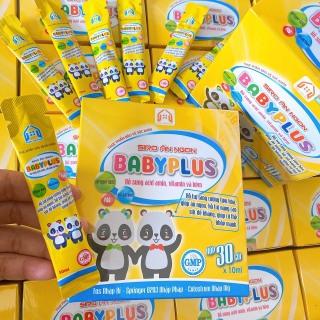 Siro Ăn Ngon Baby Plus Giúp Bé Hết Biếng Ăn, Táo Bón, Tăng Cân, Tăng Sức Đề Kháng (1 hộp 30 gói) thumbnail