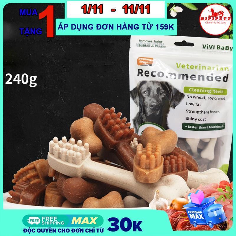 Xương gặm cho chó Vivibaby Sạch Răng Thơm Miệng Cho Chó 30 chiếc -240g
