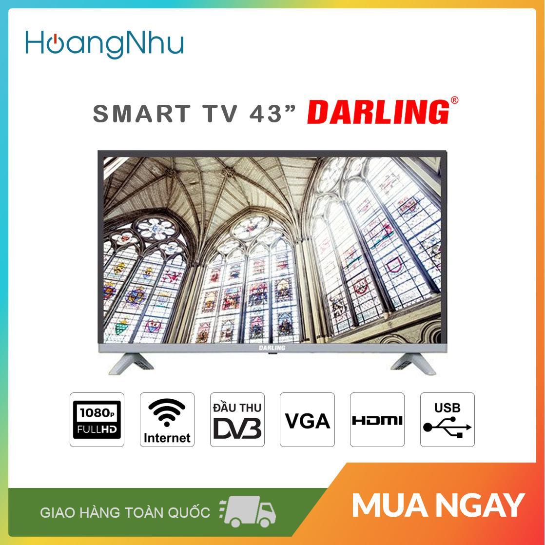 Bảng giá Smart TV Darling 43 inch 43FH960S (Full HD, Hệ điều hành Android, Wifi, truyền hình KTS) - Bào hành toàn quốc 2 năm