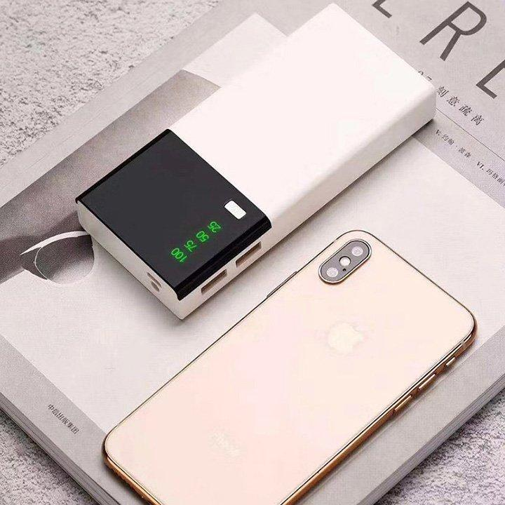 Giá Pin Dự Phòng PowerBank 20000mAh Cao Cấp Có LCD Led Đón Xuân 2020