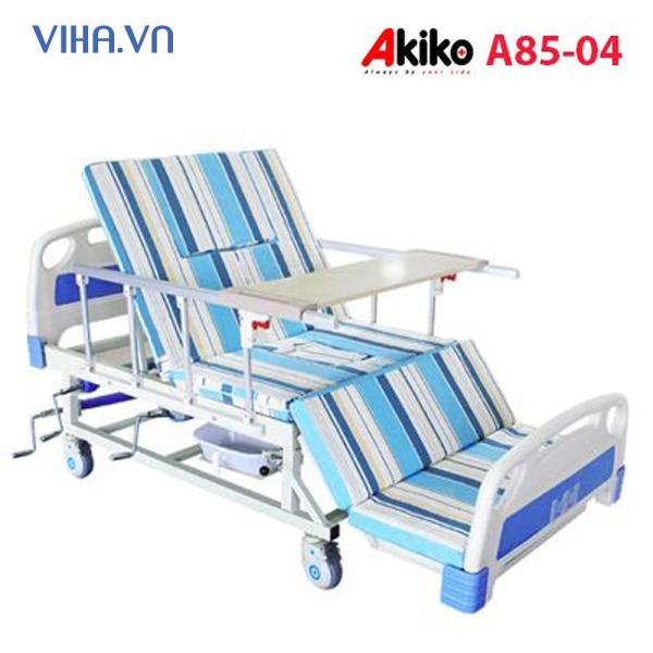 Giường bệnh nhân đa năng 4 tay quay Akiko A85-04