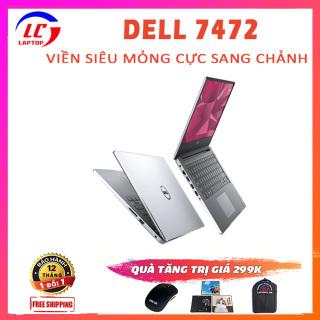 Dell Inspiron 7472 card rời ( i7-8550U, RAM 8G, SSD 256G, VGA Nvidia MX150- 2G, màn 14 Full HD IPS, viền siêu mỏng đẳng cấp) thumbnail