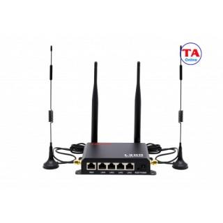 [HCM]Bộ phát Wifi 3G 4G LTE APTEK L300 tốc độ 150Mbps. 1 WAN + 4 LAN thumbnail
