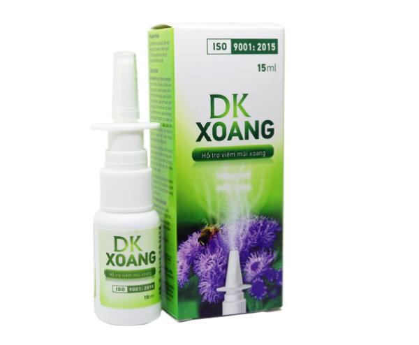 Xịt mũi thảo dược DKXOANG Hỗ trợ viêm mũi xoang (hộp 1 lọ 15ml)