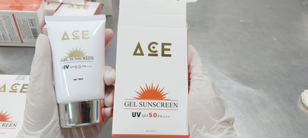 Kem chống nắng ACE - SPF 50 Chống nắng hiệu quả (50ml) - Mỹ Phẩm Kim Ngân nhập khẩu