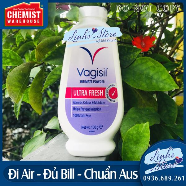 💎Phấn rôm vùng kín Vagisil Feminine Powder 100g 💎 Chuẩn Chemist Warehouse - Úc 💎 giá rẻ