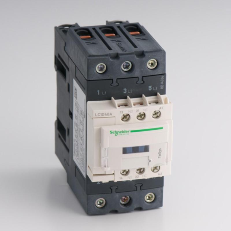 KHỞI ĐỘNG TỪ CONTACTOR SCHNEIDER LC1D40AM7 (40A col 220V DC/AC)