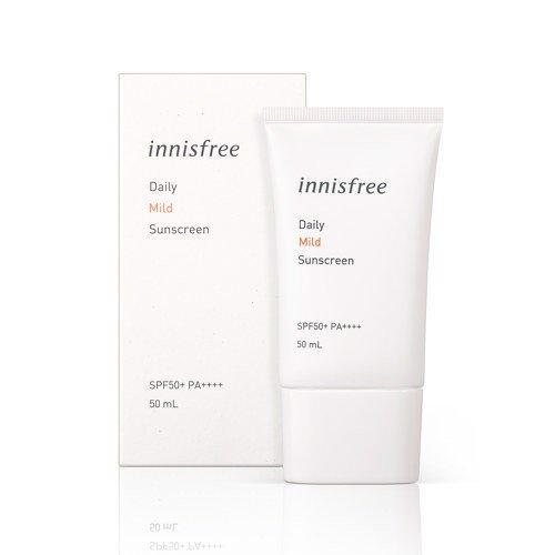 [New 2019] Kem Chống Nắng Hằng Ngày Innisfree Daily Mild Sunscreen SPF50+/PA++++ 50ml tốt nhất