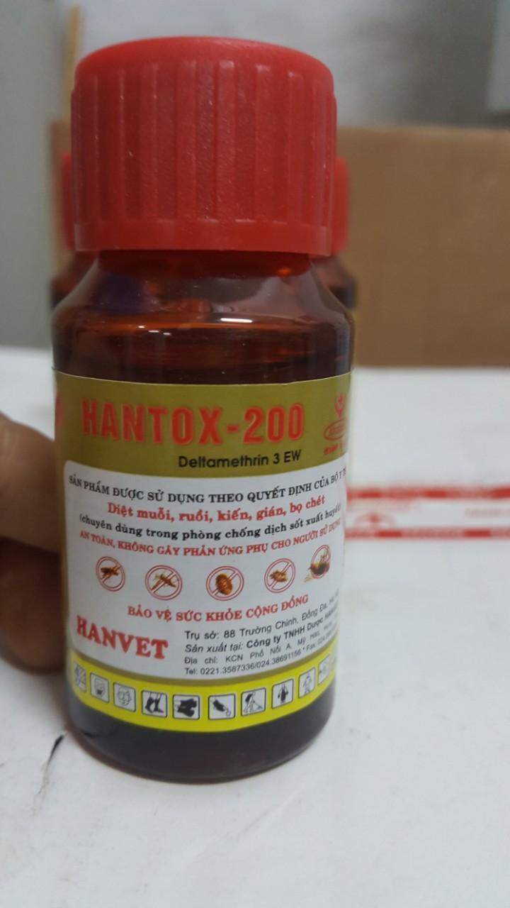 THUỐC DIỆT CÔN TRÙNG TRONG Y TẾ HANTOX 3EW 50 ML