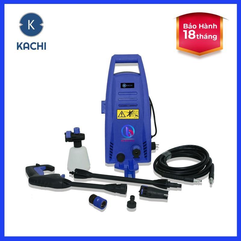 Máy Rửa Xe Cao Áp Kachi MK168 công suất 1400W, áp lực 82 bar, thiết kế nhỏ gọn, hoạt động mạnh mẽ