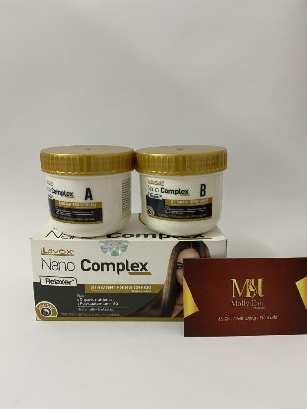 Thuốc duỗi tóc phục hồi Lavox Nano Complex thế hệ mới 150mlx2