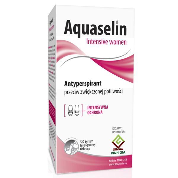 Aquaselin - Lăn nách dành cho nữ đổ mồ hôi nhiều giá rẻ