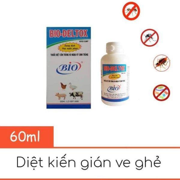 Bio- deltox thuốc phun xịt ve, rận