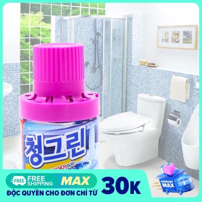 Chai lọ thả bồn cầu toilet khử mùi Hàn Quốc 400g