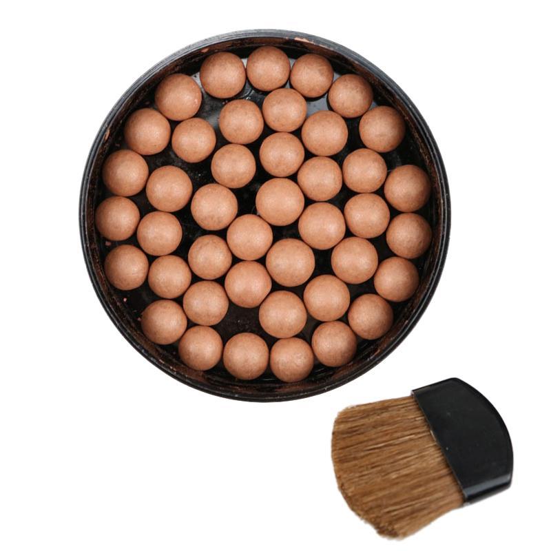 LUWHICEY 1Pc Makeup Face Matte Blusher Ball 3 In 1 Blush Eyeshadow Contour Cosmetics Powder Balls cao cấp