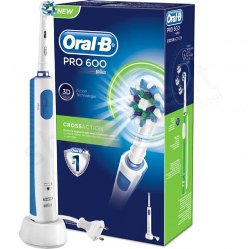 Bàn chải đánh răng điện Braun Oral-B Pro600 D16.513