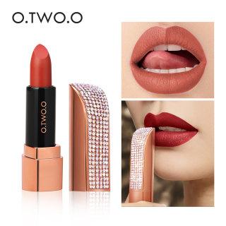 O.TWO.O Son môi lâu trôi mẫu mới hàng chính hãng có 12 màu để lựa chọn thumbnail