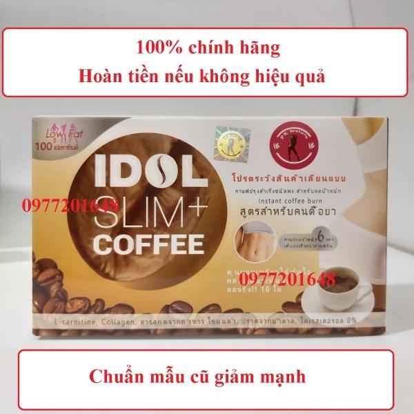 Cà phê Idol Slim Coffee 10 Gói Giảm 3 -5 Ký - Chính Hãng - Hoàn Tiền Nếu Không Hiệu Quả