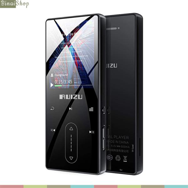 Ruizu D22 - Máy Nghe Nhạc Lossless Bluetooth 4.1, Ghi Âm 3m, Loa Ngoài