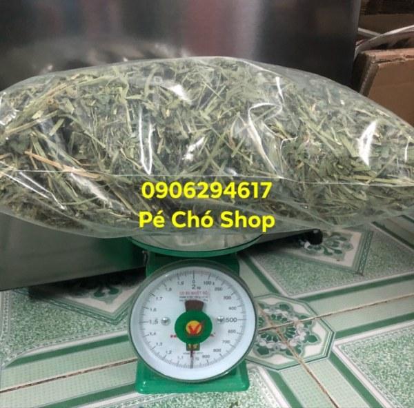 Túi cỏ Alfalfa khô siêu Tiết kiệm 1ký .