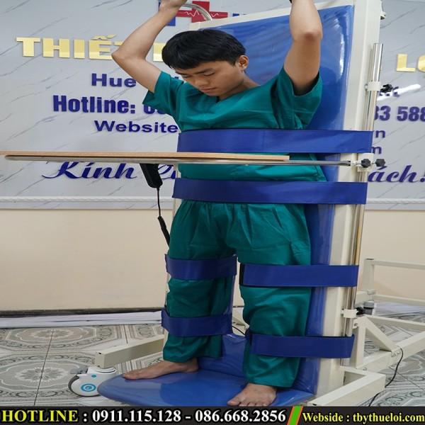 Giường tập đứng - Tập phục hồi chức năng (Giá 9.900.000vnđ) cao cấp