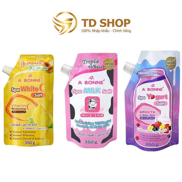 Muối Tắm Sữa Bò A Bonne Spa Milk Salt Tẩy Tế Bào Chết 350gr giá rẻ