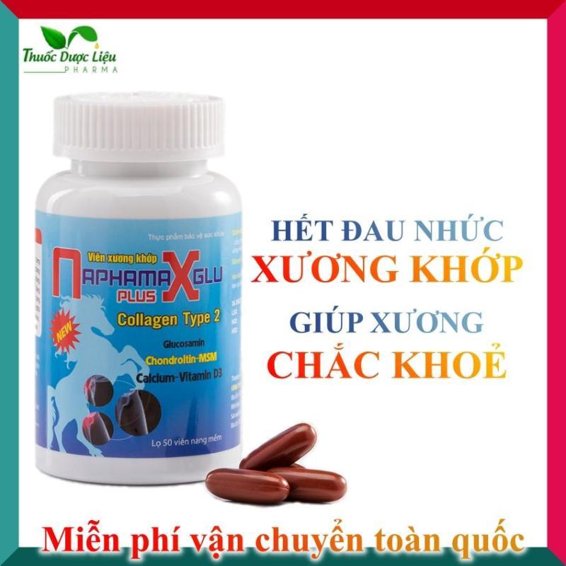Viên xương khớp - NaphaMax - giảm đau nhức xương khớp, tăng dịch bôi trơn khớp, bổ sung Glucosamin, Canxi cho xương chắc khoẻ cao cấp