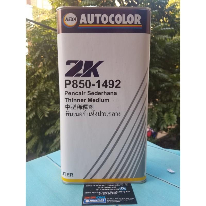 P850-1492 Dung môi pha sơn Xăng pha sơn chính hãng Nexa Autocolor nhanh khô Nexa