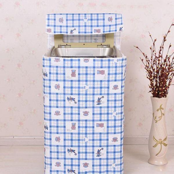 Áo Trùm Máy Giặt Cửa Trên Vải Dù Size 12 - 15kg Hoa Văn Đa Dạng Độ Bền Cao - Kara House - Gia dụng bếp