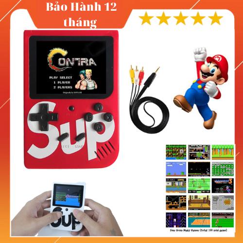 Máy chơi game đôi sup 400-Máy chơi game sup,máy chơi game sup 400 in 1,máy chơi game sup 2 người chơi giá rẻ hơn supreme,sup plus cầm tay tích hợp sẵn 400 games Mario,Contra,Tank (Nhiều màu)