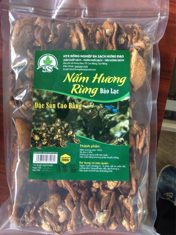 Nấm Hương Rừng Bảo Lạc Cao Bằng 200g