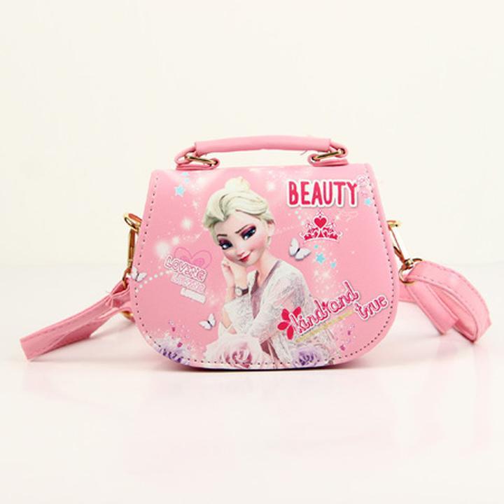 Giá bán Túi xách đeo chéo Elsa hottrend cho bé gái đủ màu sắc chất da PU cao cấp bền đẹp BBShine – TX030