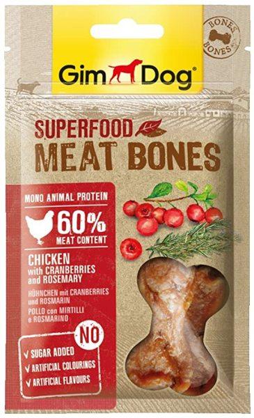 Gimdog Superfood Meat Bones Chicken With Carnberries+ Rosemary- Snack chất lượng cao Thịt Gà+Nam Việt Quất+ Hương Anh Thảo