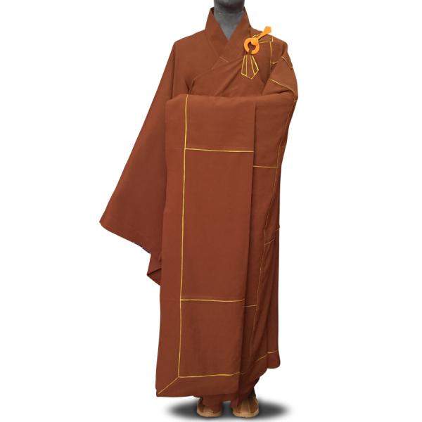 [Full 299 Trừ 120 Nhân Dân Tệ] Hongtong Bảy Áo Cà Sa 袈裟 Quần Áo Nhà Sư Nam Phật Quần Áo Trang Phục Nhà Sư Áo Cà Sa Màu Đỏ Áo Choàng