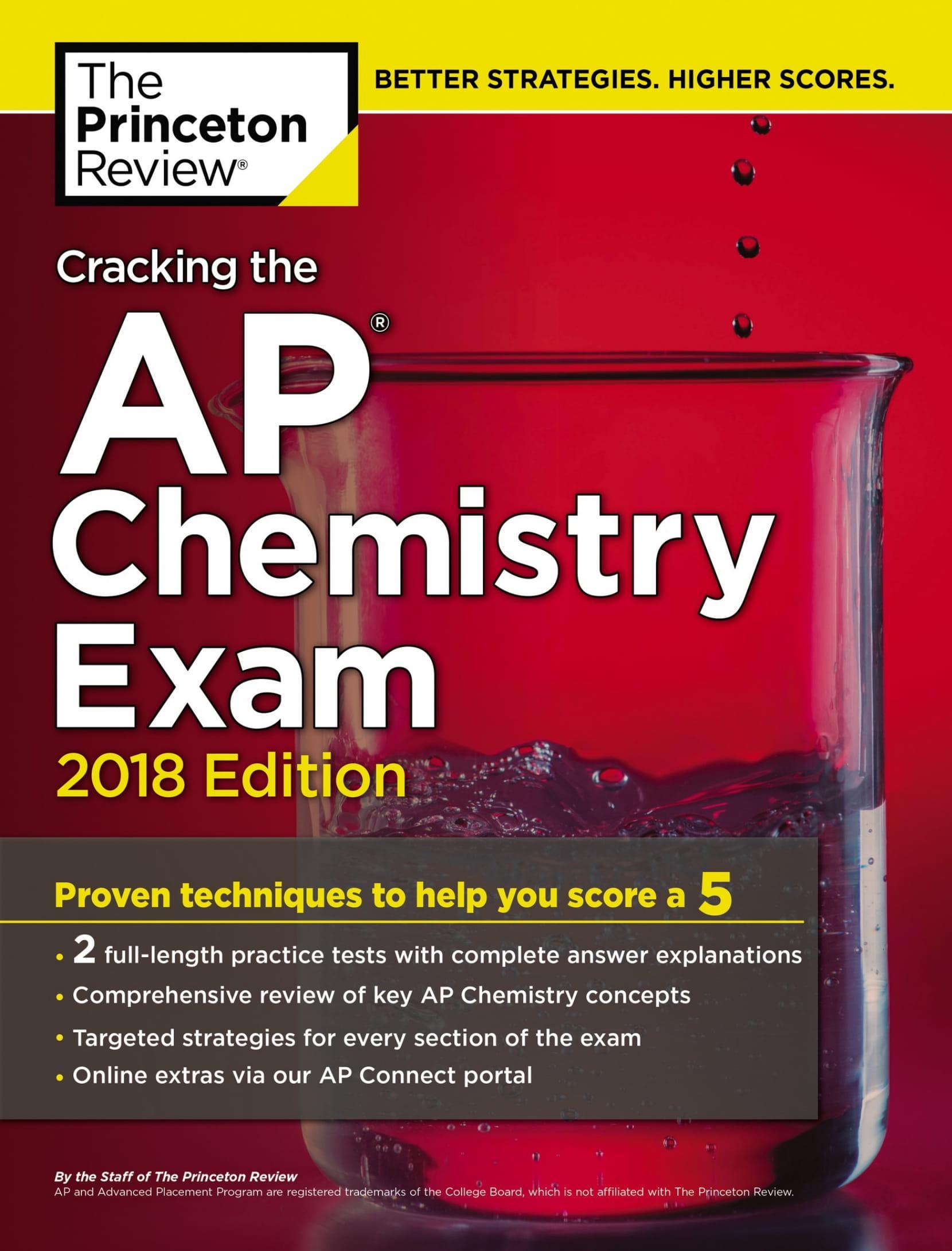 Mua Cracking the AP Chemistry Exam, 2018 Edition