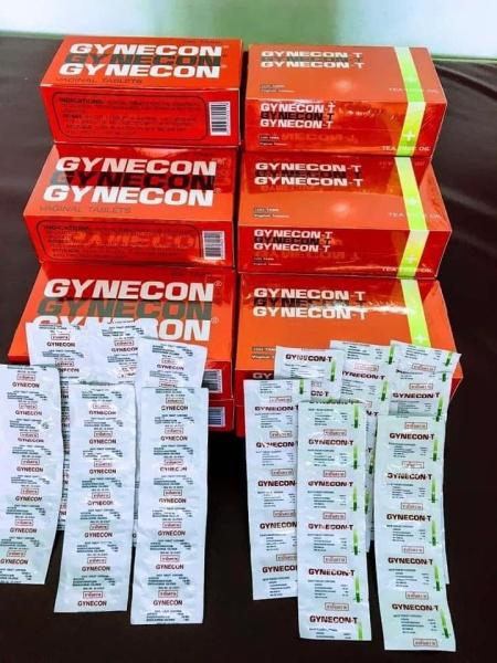 Viên đặt Phụ Khoa GYNECON Trà Xanh Thái Lan ( 1 vỉ 5 viên ) giá rẻ