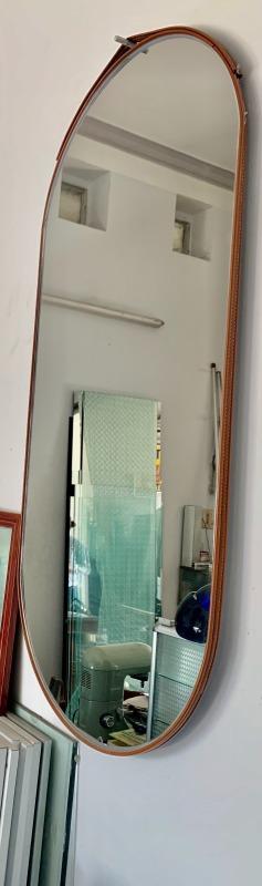 Gương soi toàn thân Decor dây da kích thước 45cm*100cm