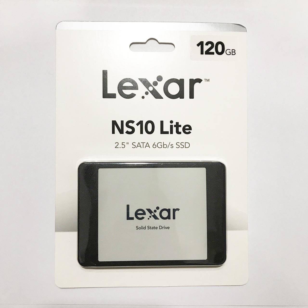 "Ổ Cứng SSD Lexar NS10 120GB 2.5"" SATA III(1)"