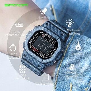 Đồng hồ Nam thể thao SANDA JAPAN AERI - Siêu chống nước - Chuẩn bền Quân Đội - Đồng hồ nam thể thao, Đồng hồ nam cao cấp, Đẹp,Sang trọng,Đẳng cấp, Bền, Giá Sốc, Đồng hồ nam chống nước, Đồng Hồ Đeo Tay thumbnail