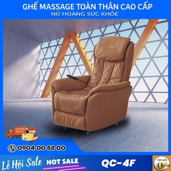 Ghế massage Sofa Queen Crown QC 4F