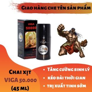 Chai xịt VIGA 50000 cao cấp tăng cường sinh lý nam mạnh mẽ (45ml) - hàng chính hãng thumbnail