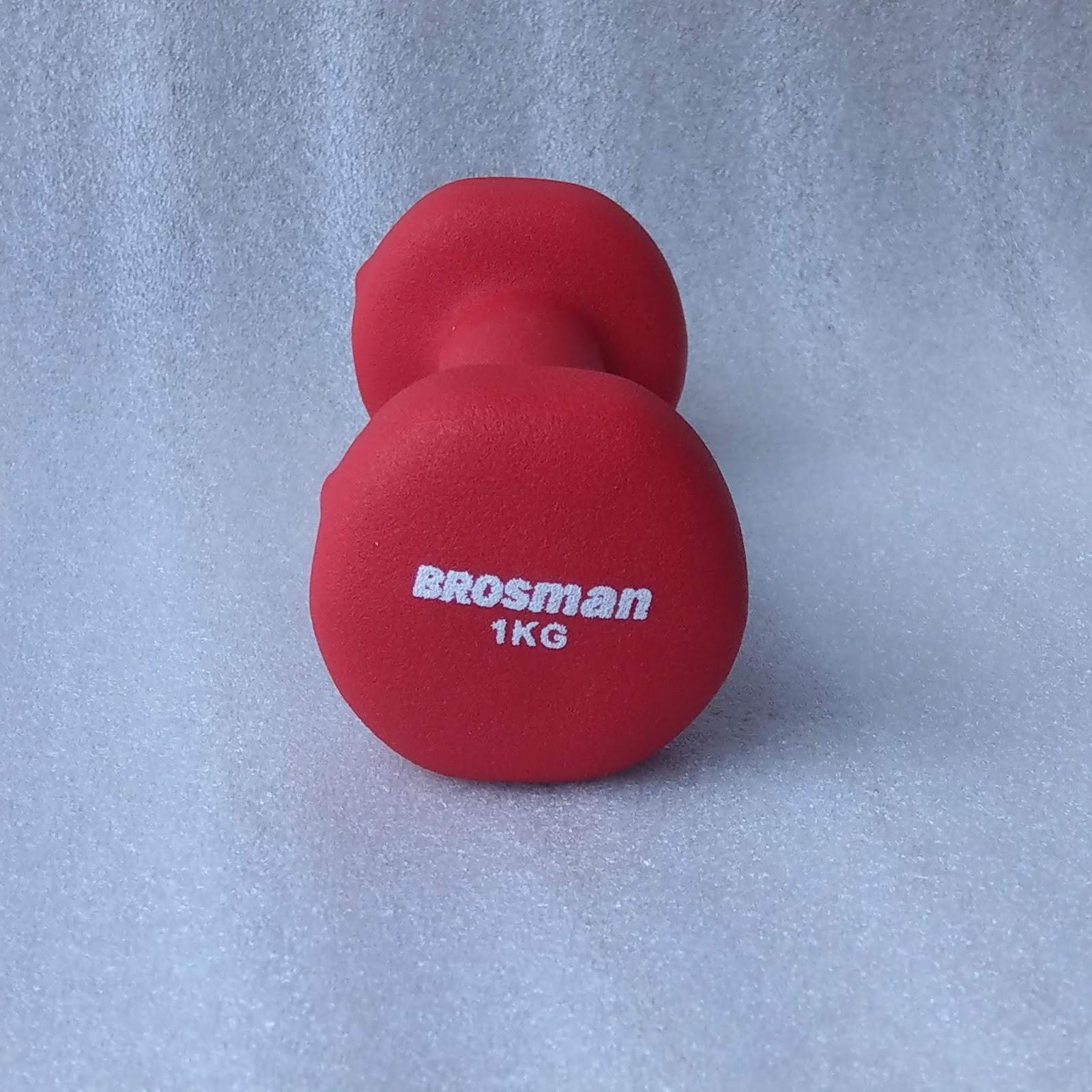 Tạ Tay Brosman 1 Kg (Đỏ) Không Thể Rẻ Hơn tại Lazada