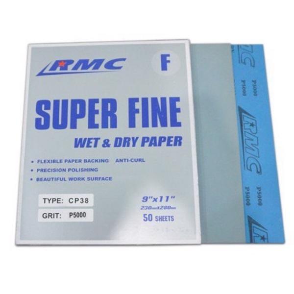 Bộ giấy nhám RMC đủ số từ 120-5000 khổ A4