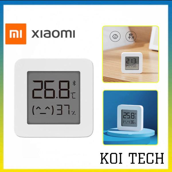 Thiết bị đo nhiệt độ độ ẩm xiaomi mijia 2 - máy đo độ ẩm nhiệt độ đa năng bluetooth bán chạy