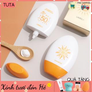 Kem chống nắng cho da mặt bảo vệ da Lameila SPF 50++ dưỡng và hỗ trợ tái tạo da chắc khỏe, chống nắng hiệu quả dành cho cả nam và nữ, chất kem mịn, nhẹ không gây bết dính, sản phẩm nội địa Trung chính hãng, đảm bảo-KCN thumbnail