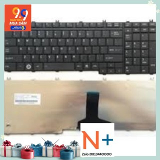 Bàn phím laptop Toshiba Satellite L355 L355D (Đen) thumbnail